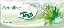 Tento Aloe Vera papírzsebkendő 3 réteg, 10x10 db/csomag