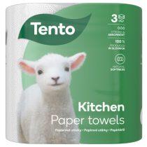 Tento Kitchen Innovations háztartási papírtörlő/kéztörlő, 3 rétegű, 73 lapos, 2 tekercs/csomag