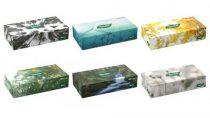Tento Flatbox 70 papírzsebkendő/kozmetikai kendő, 2 rétegű, 70 kendő/doboz