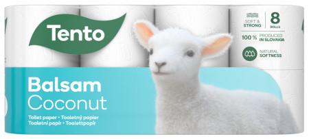 Tento Sensitive Coconut Milk toalettpapír, 3 rétegű,142 lapos,8 tekercs/csomag