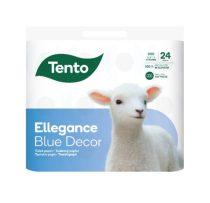 Tento Ellegance Cool Aqua toalettpapír 3 réteg, 150 lapos, 24 tekercs/csomag