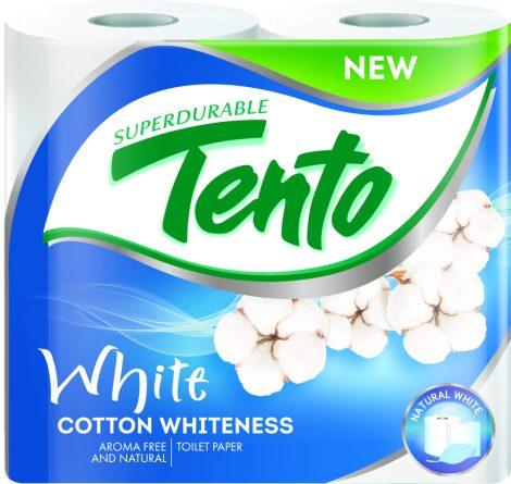 TENTO Fresh Aroma Cotton Whiteness (wc papír) 2 rétegű, 156 lap/tekercs, 4 tekercs/csomag