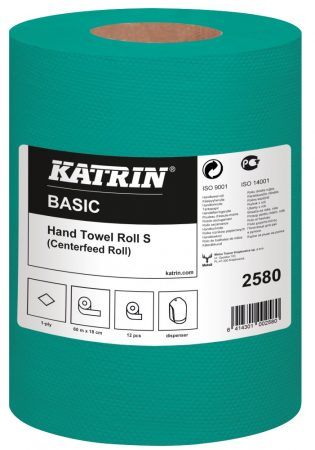 2580 KATRIN BASIC zöld kéztörlő