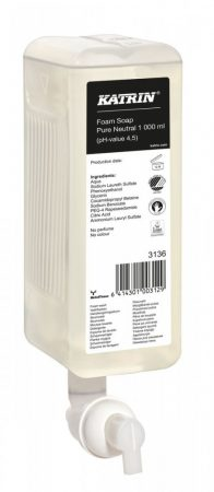 Katrin 3136 habszappan ''Pure Neutral Foam Soap'', 1000 ml