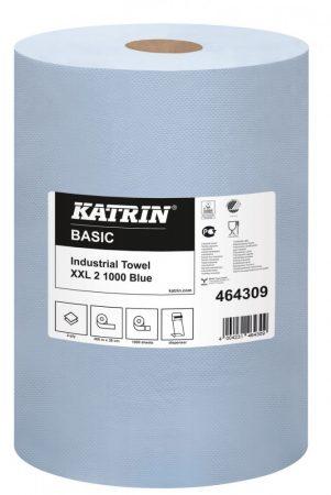 464309  Katrin Basic ipari törölkendő XXL2 kék