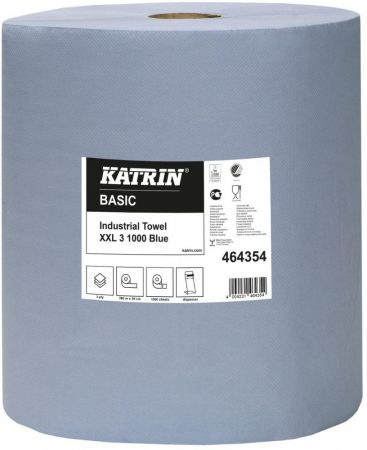 464354 Katrin Basic Industrial Towel XXL3 Blue