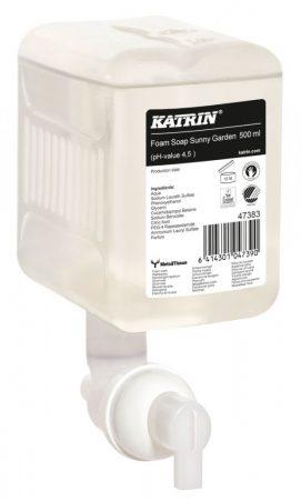 47383  Katrin habszappan ''Sunny Garden Foam Soap'', 500 ml, 12 db/karton,