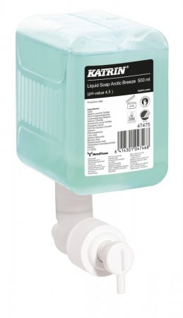 47475  Katrin folyékony szappan ''Artic Breeze Liquid Soap'', 500 ml, 12 db/karton