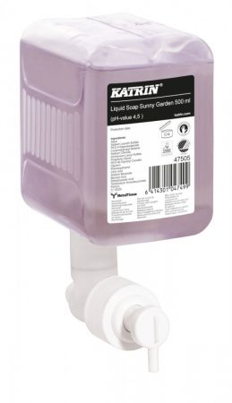 47505   Katrin folyékony szappan ''Sunny Garden '', 500 ml, 12 db/karton
