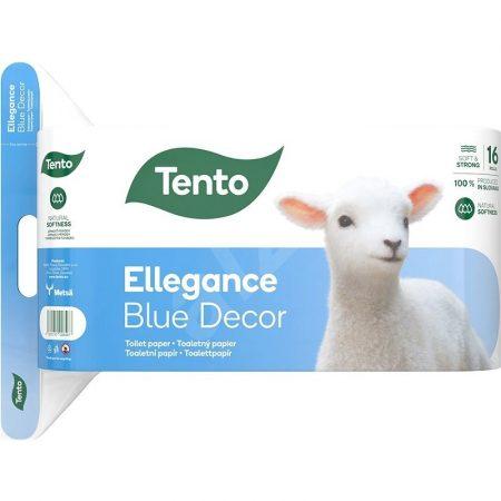 Tento Ellegance Blue Decor 16os toalettpapír