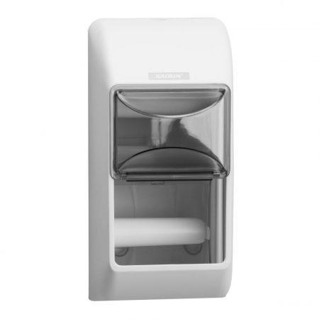 KATRIN kistekercses  toalettpapír adagoló két tekercshez - fehér