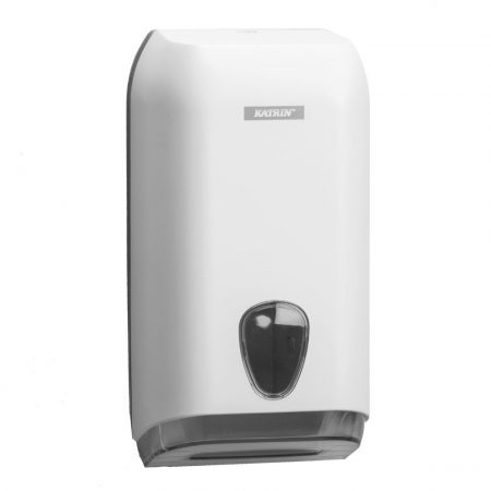 KATRIN INCLUSIVE hajtogatott toalettpapír adagoló  - fehér