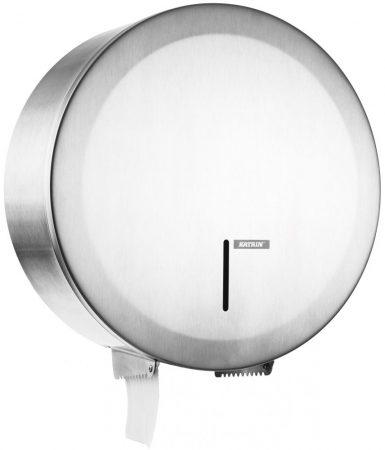 992967 KATRIN Gigant toalettpapír adagoló L - rozsdamentes acél